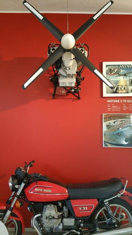 Motores para aviones. ¡Guzzi innova!