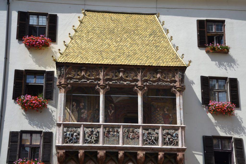 El balcón más famoso de Insbruck
