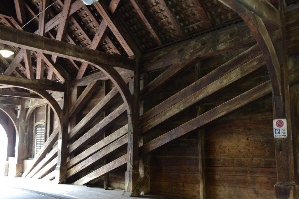 El puente visto desde dentro